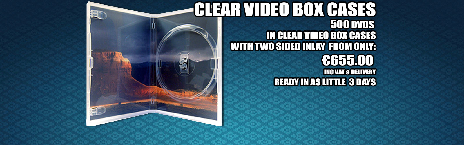 Clear DVD Video Box Cases